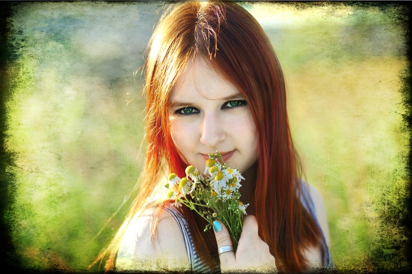 "photo ""Sommer Girl"" tags: portrait, digital art, misc., Russia, girl, summer"