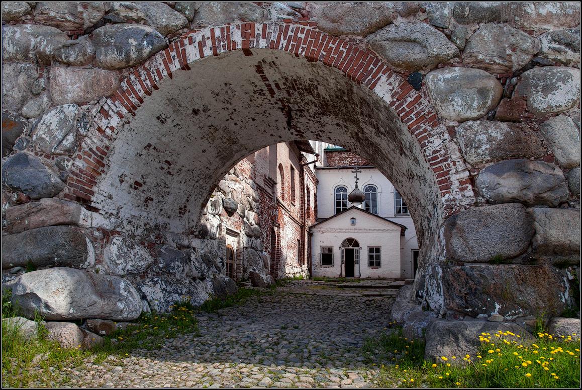 """фото """"в Соловецком монастыре"""" метки: архитектура, путешествия,"""
