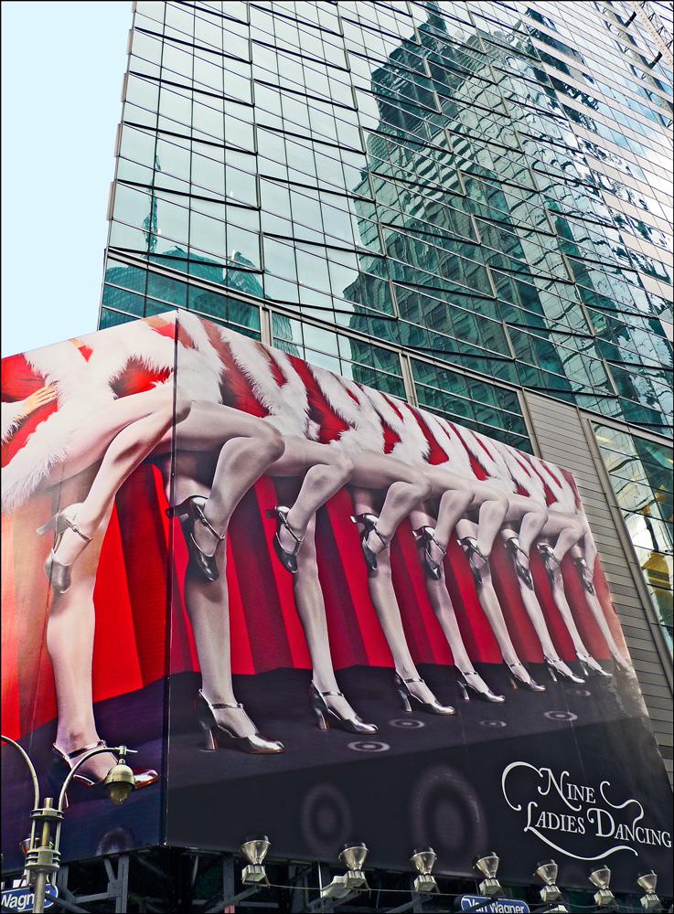"""фото """"Весело встречаем Новый год!"""" метки: город, фрагмент, Нью-Йорк"""