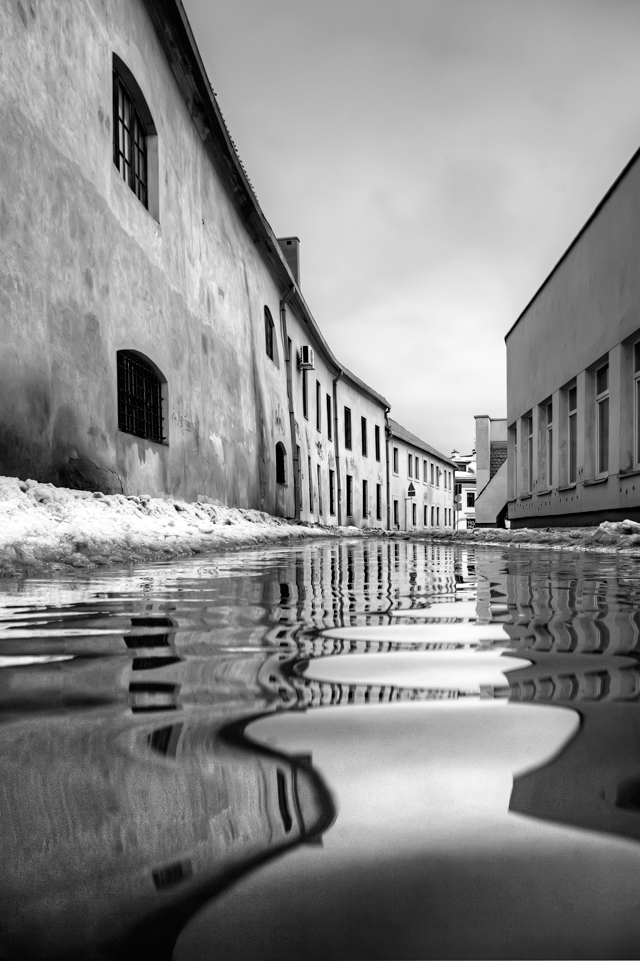 """фото """"***"""" метки: город, Европа, Литва, зима, итд, оченькрасиво"""