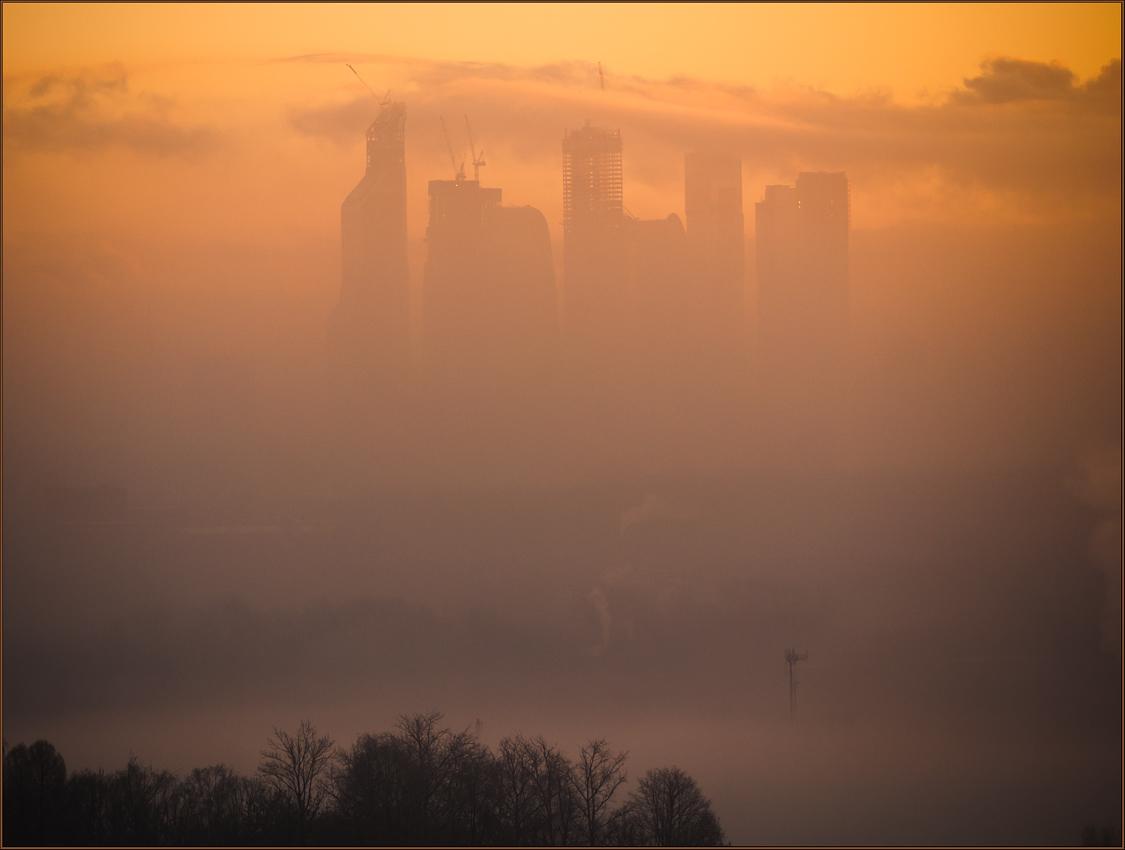 """фото """"Утром туманным"""" метки: пейзаж, архитектура,"""