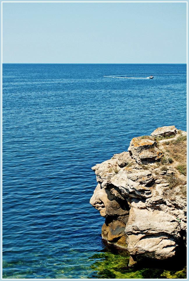 """фото """"Самое синее в мире..."""" метки: путешествия, природа, Крым"""