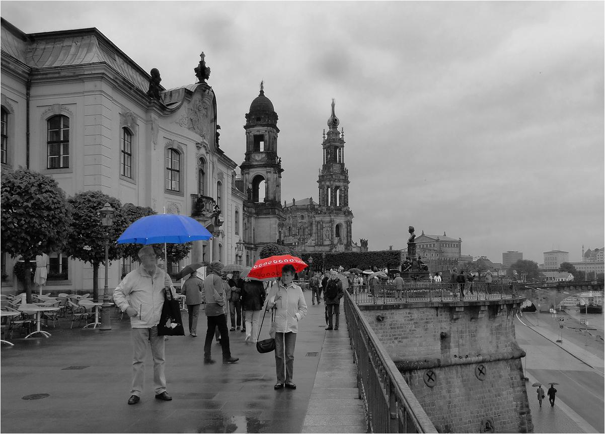"""фото """"Дождливый Дрезден"""" метки: архитектура, жанр, путешествия, Европа, здания, улица"""