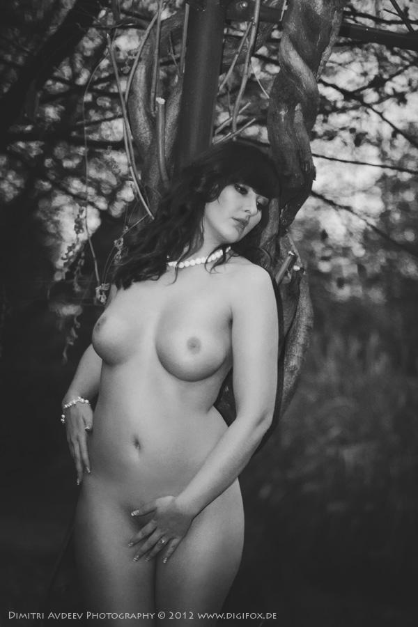 """фото """"***"""" метки: ню, грудь, женщина, обнажённая, осень, парк"""