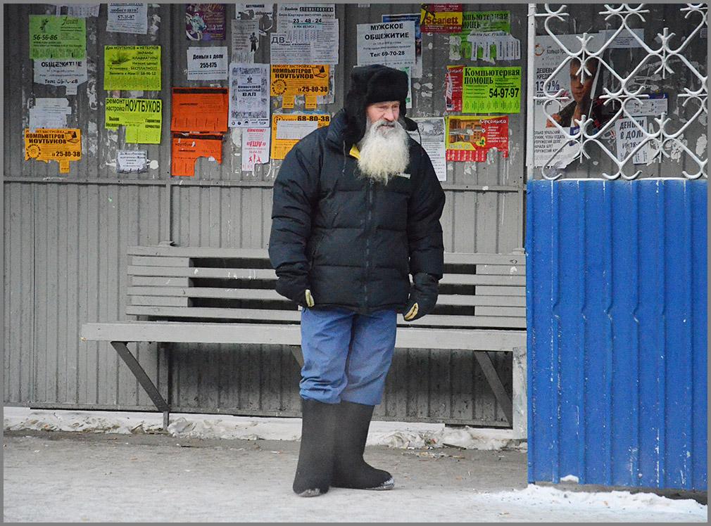 "фото ""будни Деда Мороза"" метки: портрет, город, разное,"