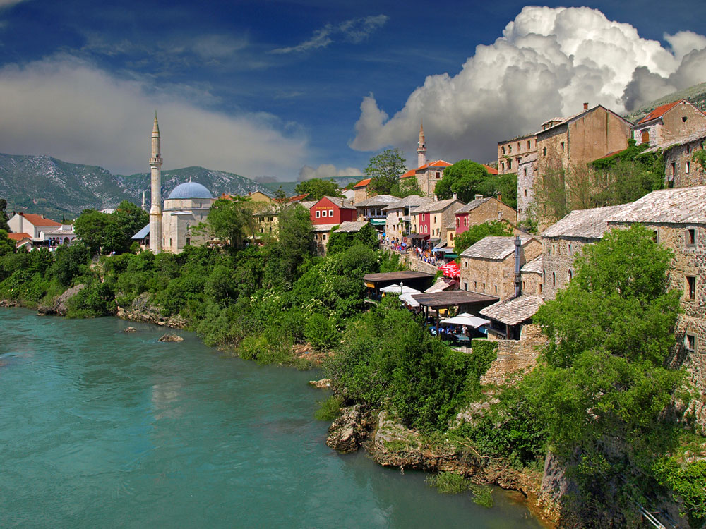 "photo ""Mostar, Bosnia"" tags: travel,"
