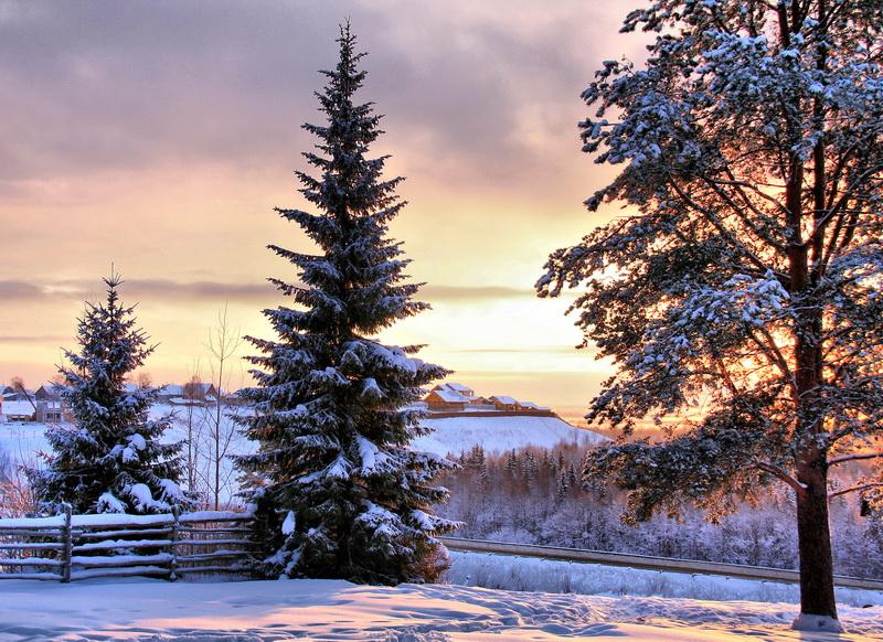 "фото ""С Рождеством!!!"" метки: пейзаж,"
