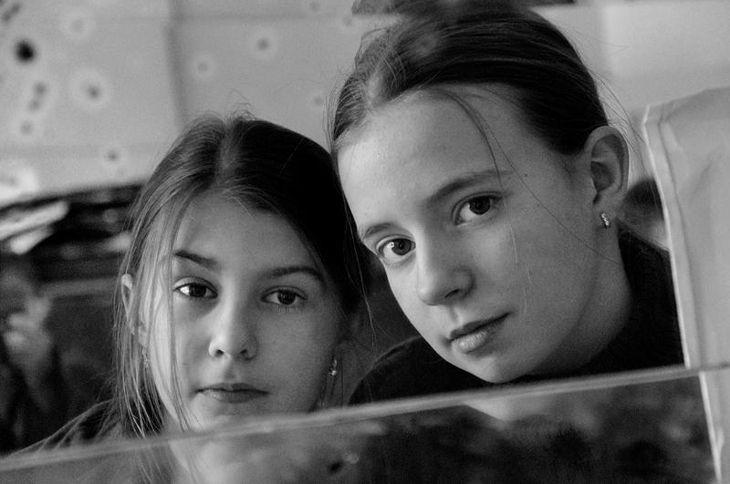"""фото """"Двойной портрет в зеркале. 2009г."""" метки: портрет,"""