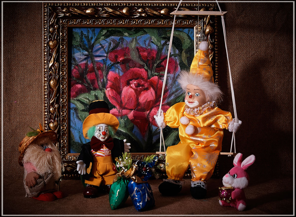 "фото ""Из истории игрушек"" метки: натюрморт,"