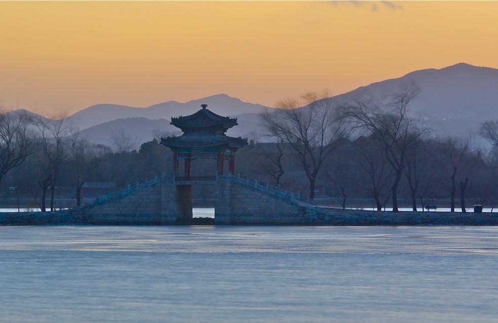 """фото """"Зима в императорском саду"""" метки: пейзаж,"""