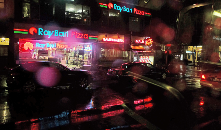 """photo """"Rainy Night"""" tags: city, street,"""