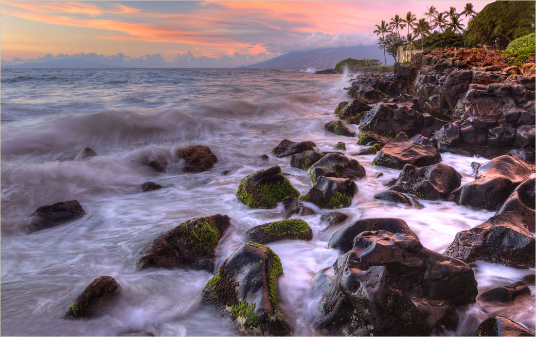 "photo ""Wave"" tags: landscape, sunset, water"