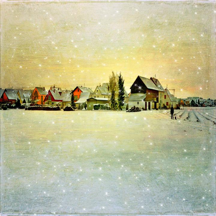 """фото """"Зима"""" метки: город, Европа, зима"""