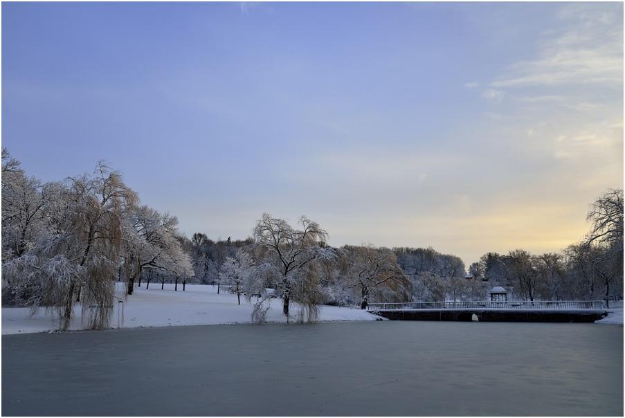 "фото ""***"" метки: пейзаж, вода, зима, лес, рассвет"