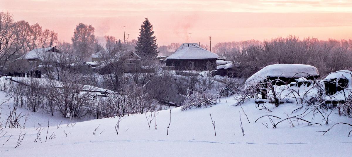 """фото """"Рождественское утро"""" метки: пейзаж,"""