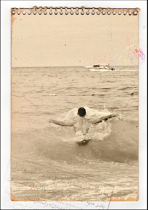 "фото ""Вспоминая лето..."" метки: digital art, путешествия, разное, Азия, Тайланд, вода, монохром, море"