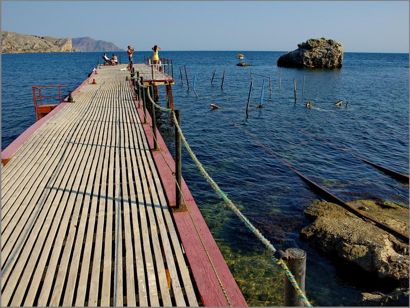 """фото """"Крым,2012."""" метки: пейзаж, путешествия, вода, горы, лето"""