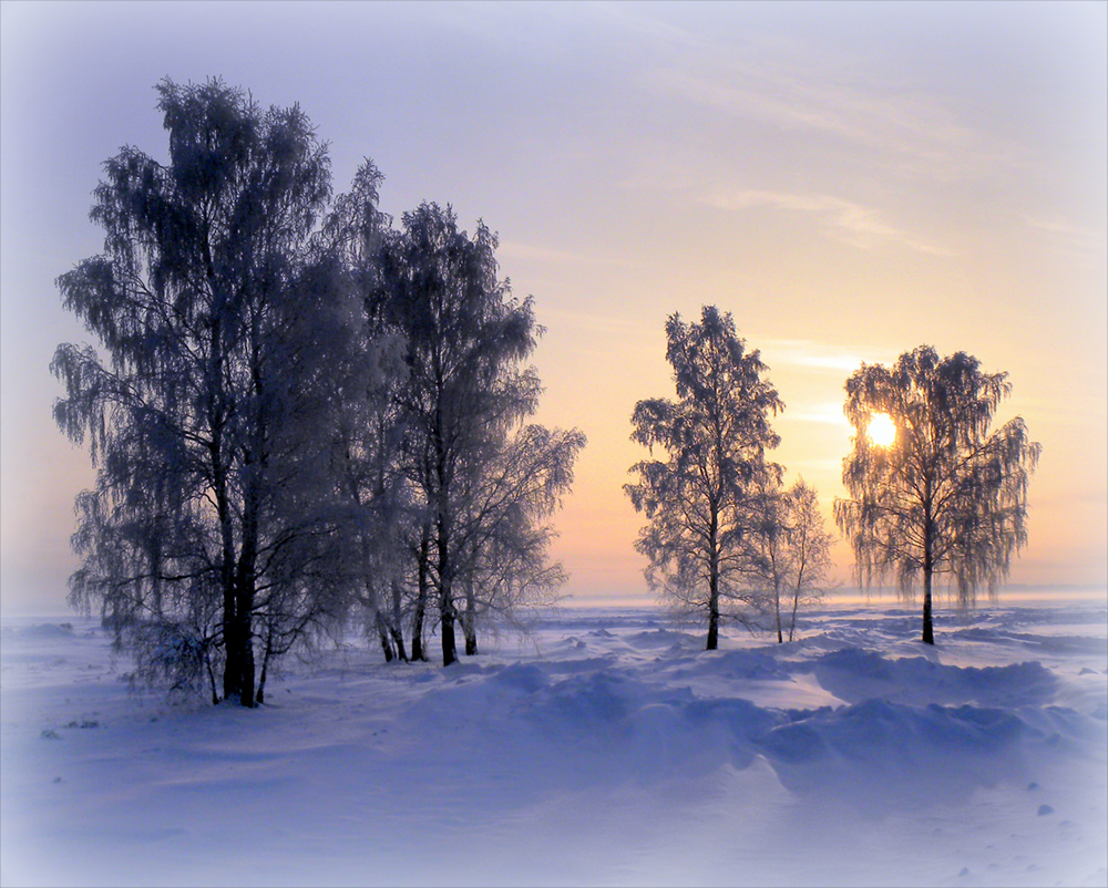 "photo ""This is my Winter."" tags: landscape, sunset, winter"