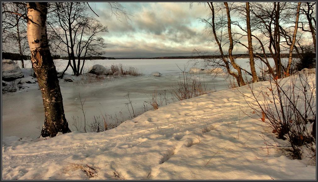 "фото ""Мартовский мотив в январе"" метки: пейзаж, Выборг, Монрепо, зима, март, снег, солнце, январь"