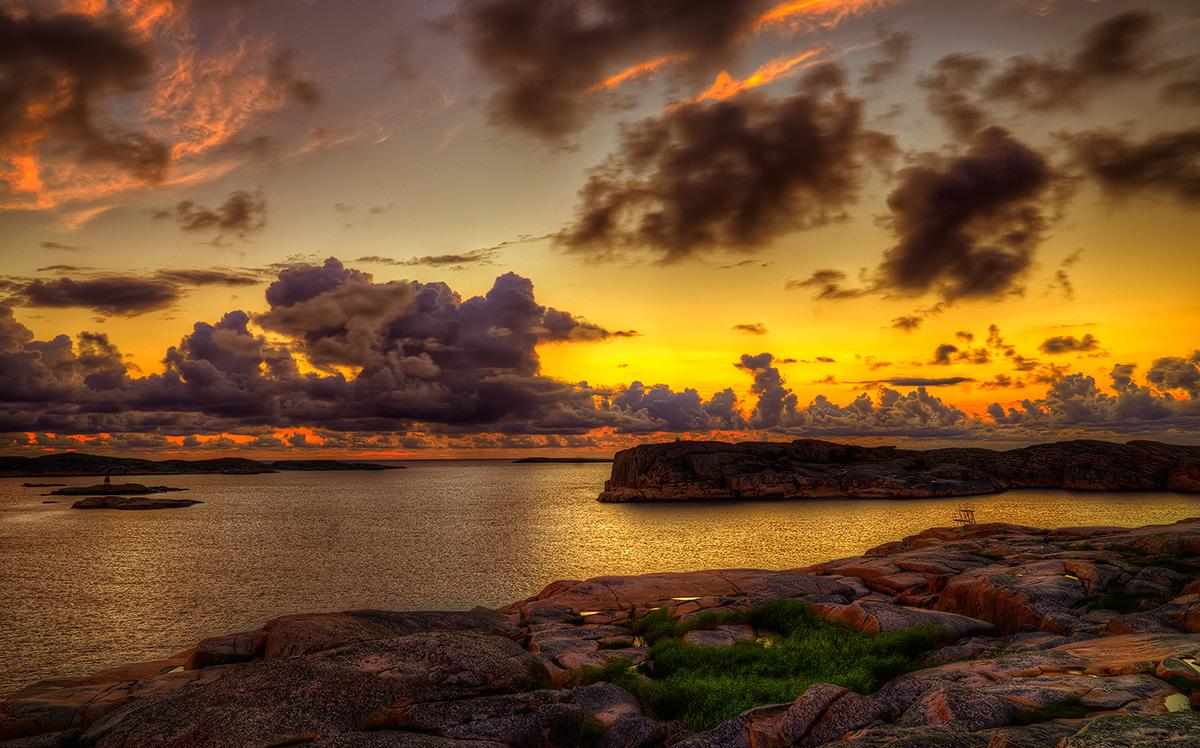 """фото """"Summernight"""" метки: пейзаж, Europe, night, sea, summer, вода"""