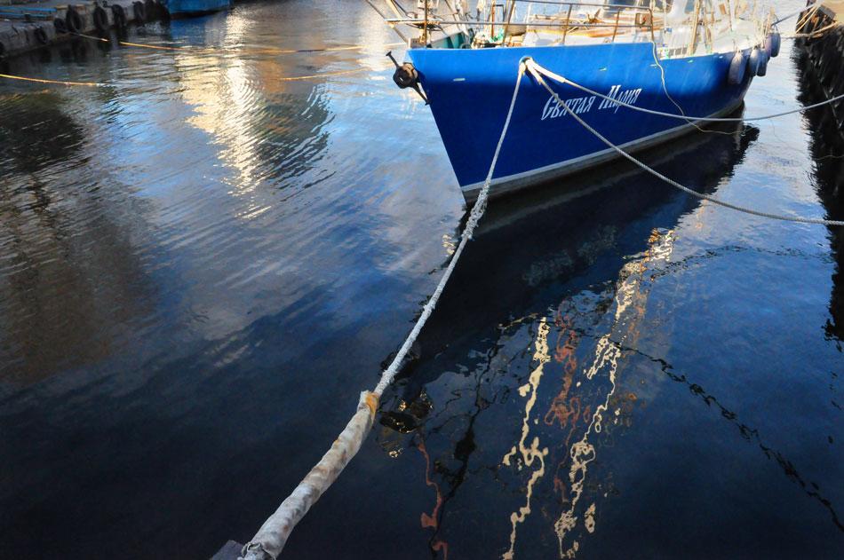 """фото """"Причал"""" метки: пейзаж, море, причал, яхта"""