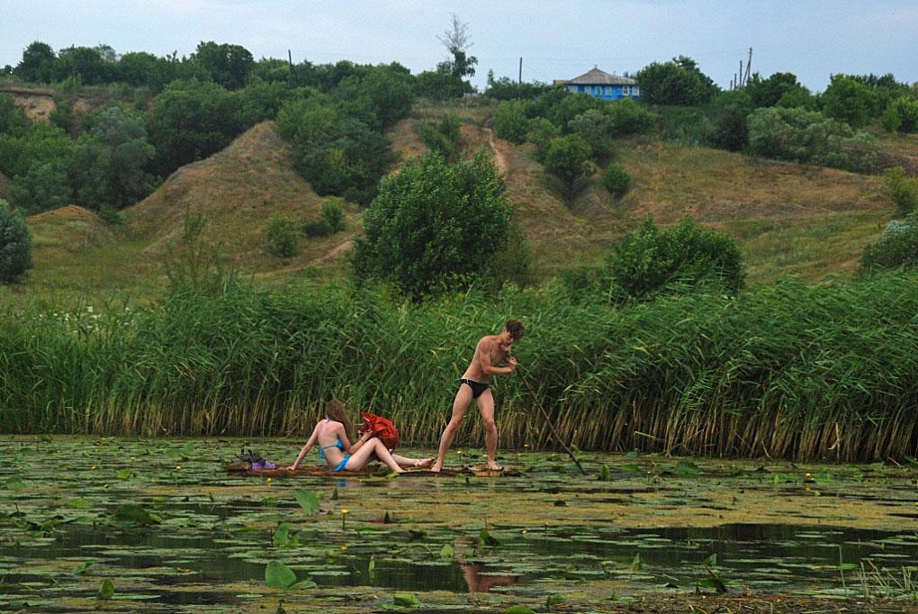 """фото """"Из варяг в греки: на реке Псёл"""" метки: жанр,"""