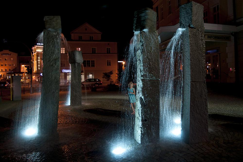 "фото ""Фонтан"" метки: архитектура, путешествия, город, Европа, Фюссен"