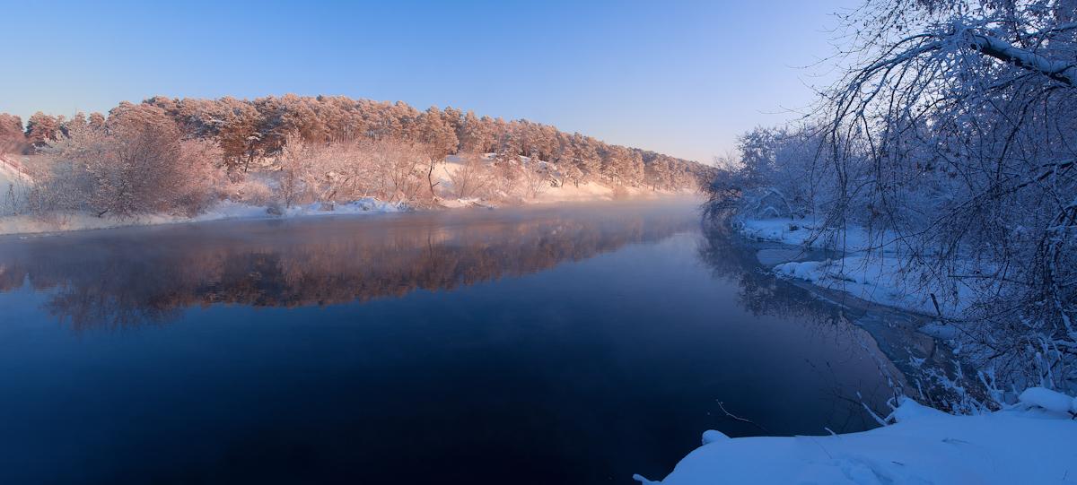 """фото """"Синяя река"""" метки: пейзаж,"""