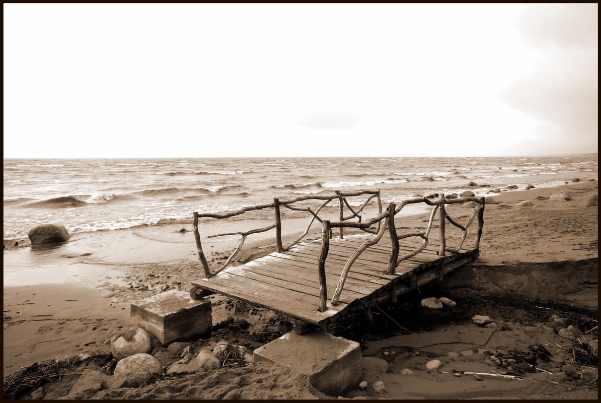 "photo ""The Bridge across Forever"" tags: landscape,"