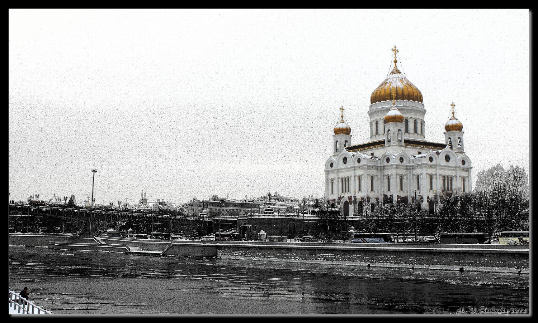 "фото ""Против!"" метки: город, жанр, архитектура, Европа, вода, здание, зима, храм"