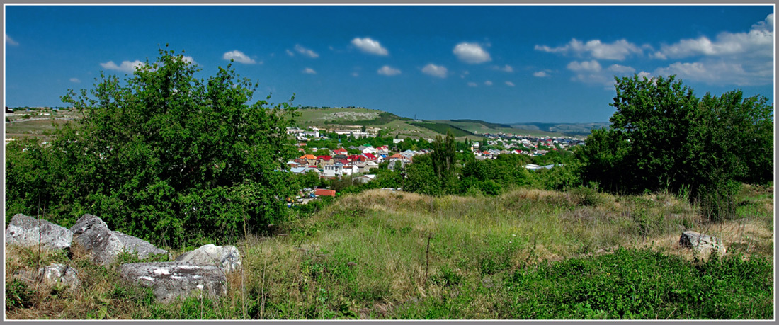 """фото """"Окраина Симферополя"""" метки: город, пейзаж, панорама, Крым, Симферополь"""