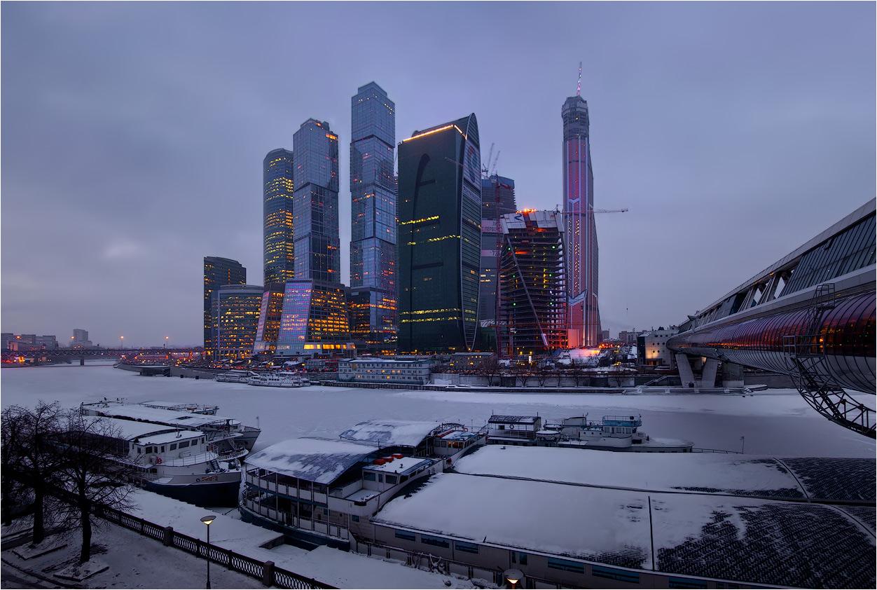 """фото """"московский вечер"""" метки: архитектура, город, панорама,"""