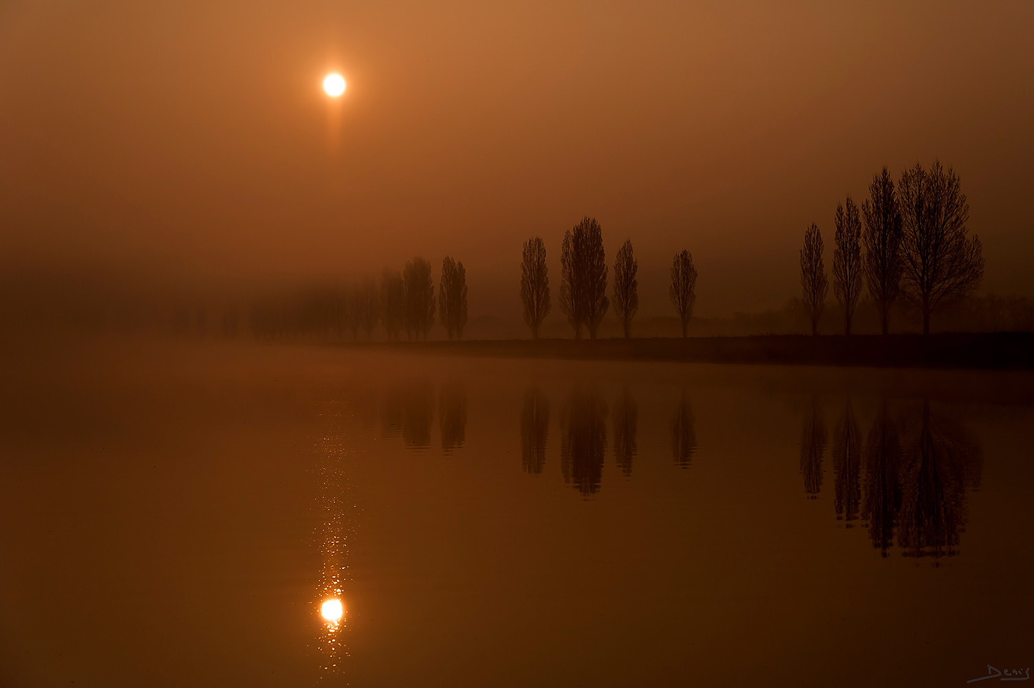 "photo ""In the morning"" tags: landscape,"