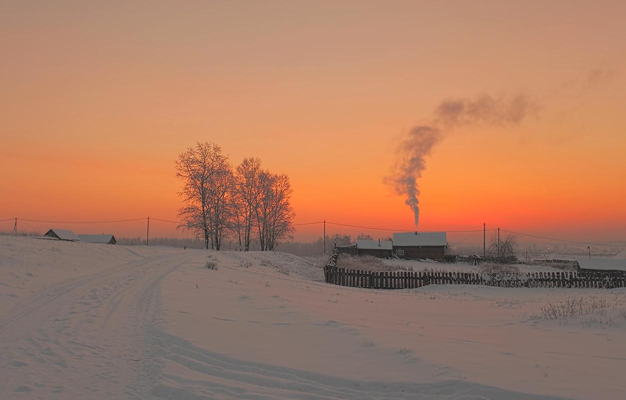 """фото """"Морозное утро накануне Старого Нового Года!"""" метки: пейзаж,"""