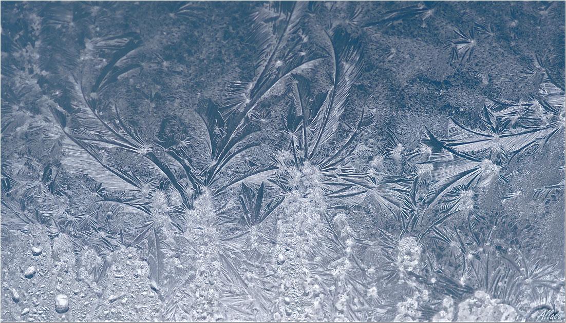 """фото """"Морозные узоры на стекле"""" метки: макро и крупный план,"""