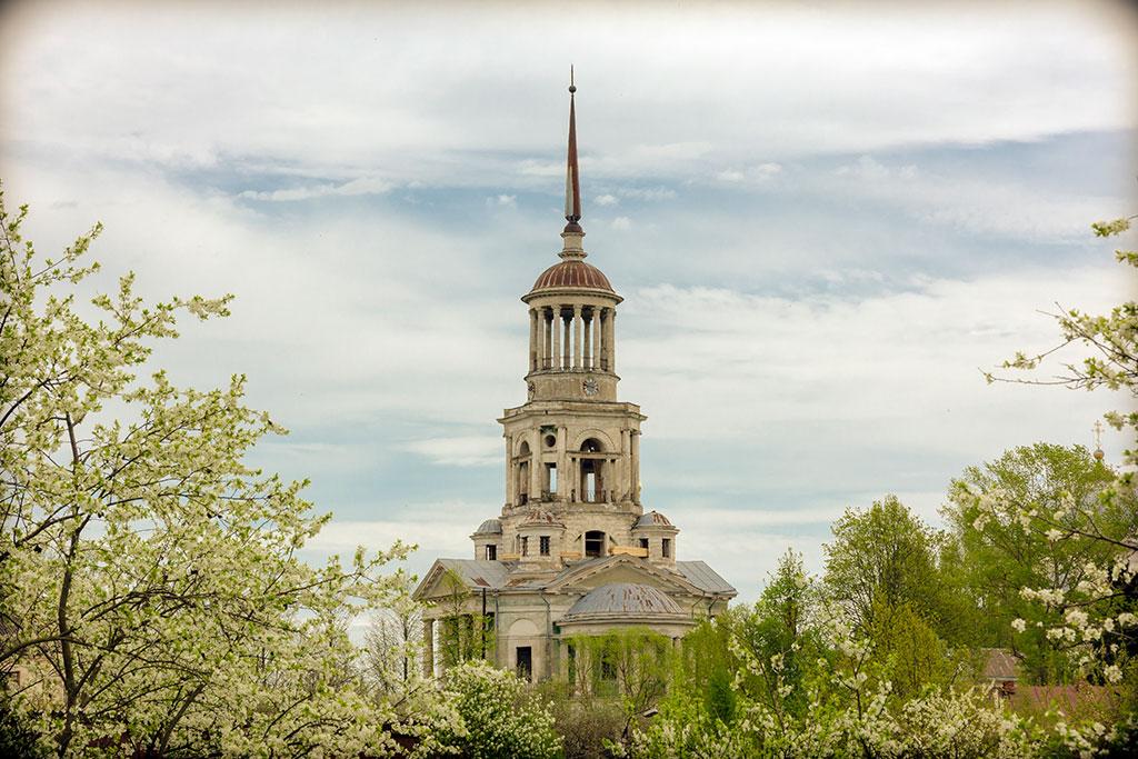 """фото """"Борисоглебский монастырь, Торжок"""" метки: архитектура, пейзаж, Торжок, монастырь, храм, церковь"""