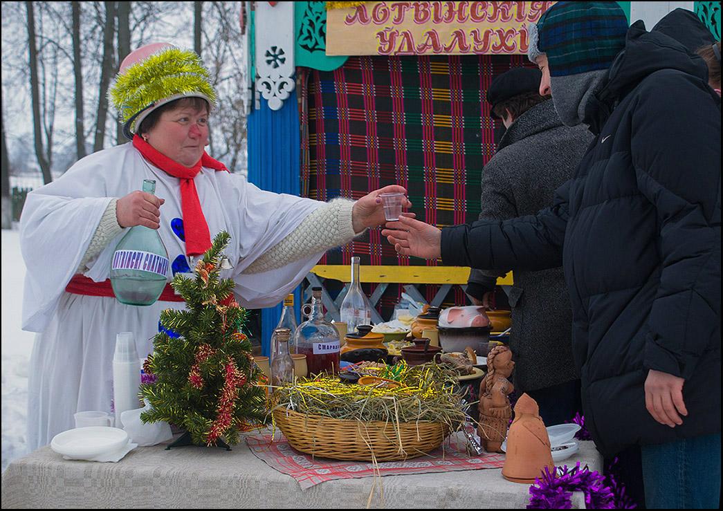 "photo ""Village Festival..."" tags: genre, деревенский праздник"