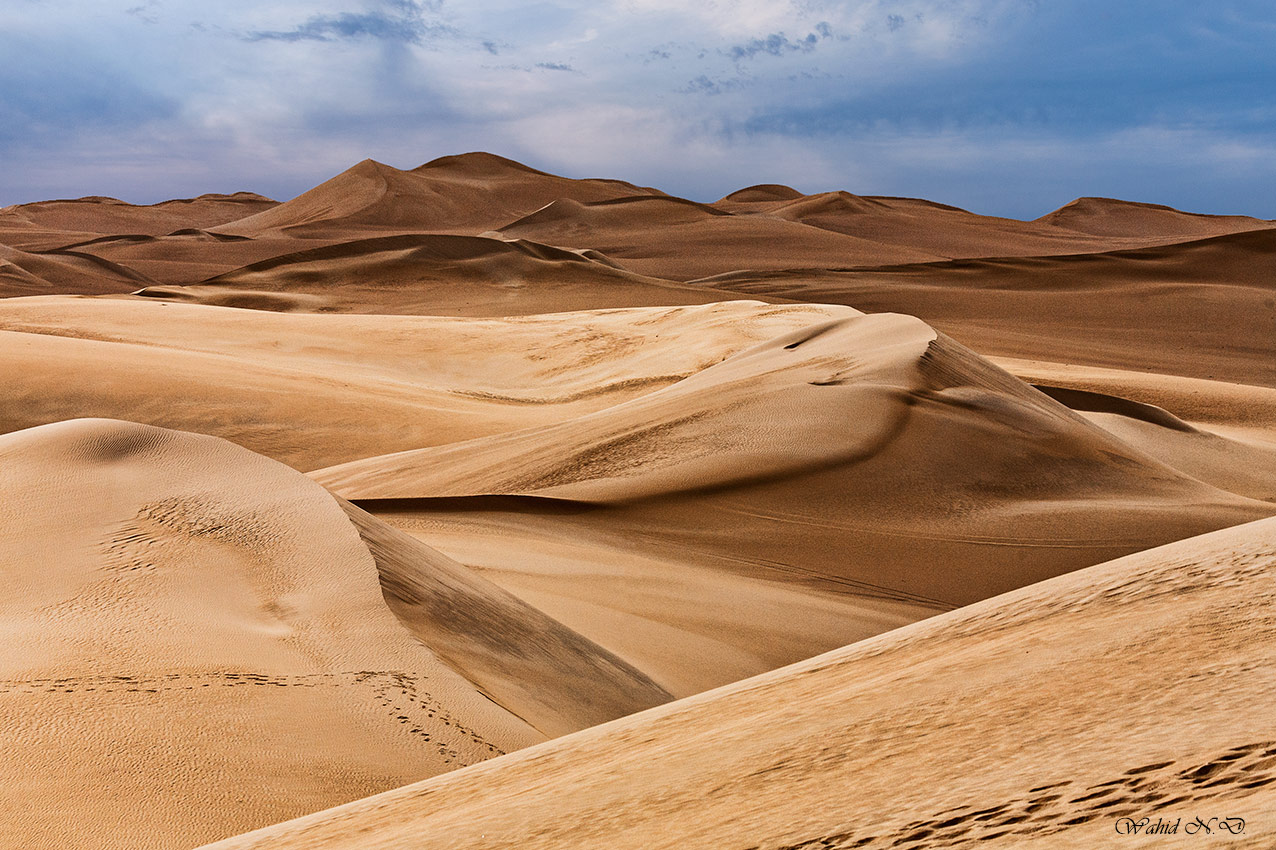 "photo ""Turmoil of Dunes"" tags: landscape, nature, travel, Africa, Dsert, Sand"