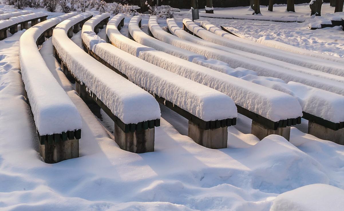 "фото ""Насыпало..."" метки: город, зима"
