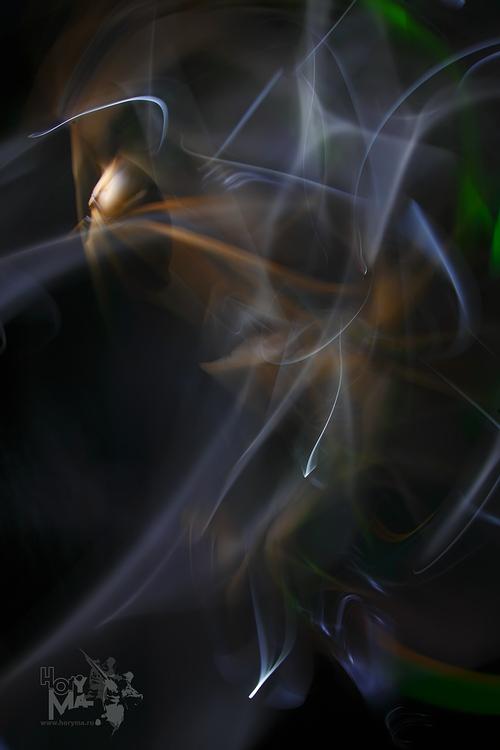 "photo ""Abstraction (3)"" tags: abstract, misc., light, lightgraphic, длительная выдержка, импровизация, предметка, предметы, светографика, сдвиги"