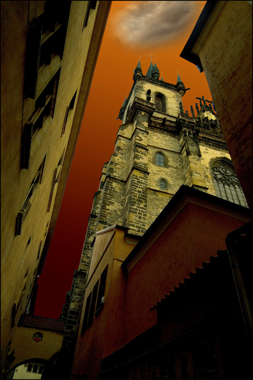 """photo """"Прага-2012"""" tags: landscape, architecture, genre,"""