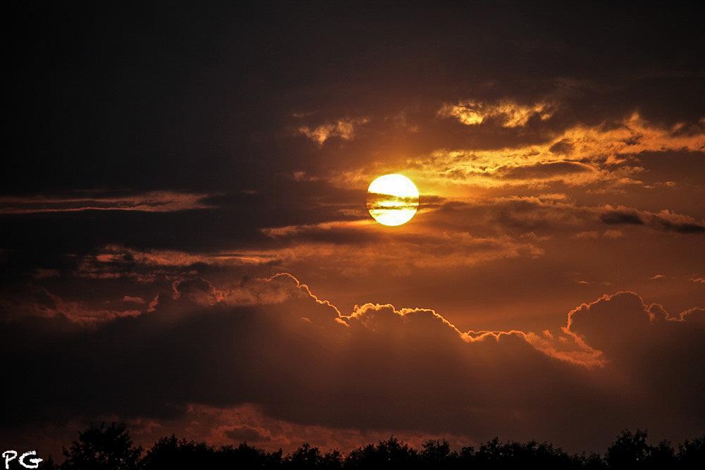 "фото ""настроение тогда.."" метки: пейзаж, закат, солнце"