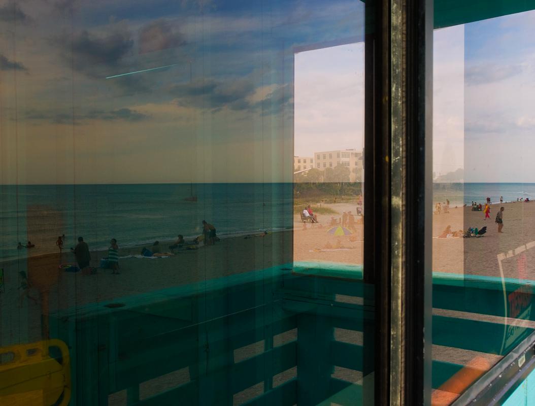 "фото ""Mirage"" метки: пейзаж, жанр, beach, ocean, берег, люди"