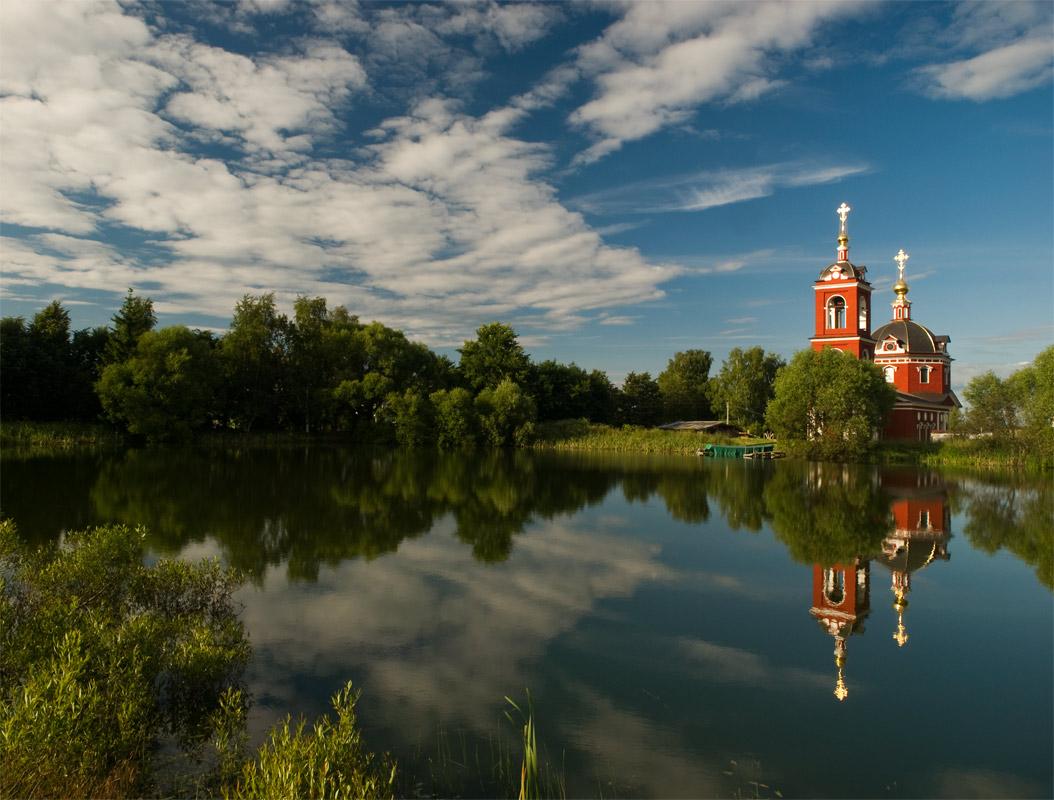 """фото """"Золото на голубом"""" метки: архитектура, пейзаж,"""