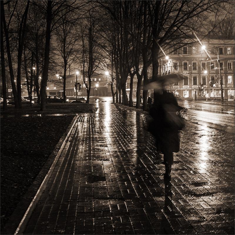 Картинки ноябрь черно белые