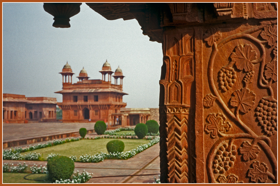 "photo ""Fatehpur Sikri"" tags: travel, architecture, Fatehpur Sikri, india"