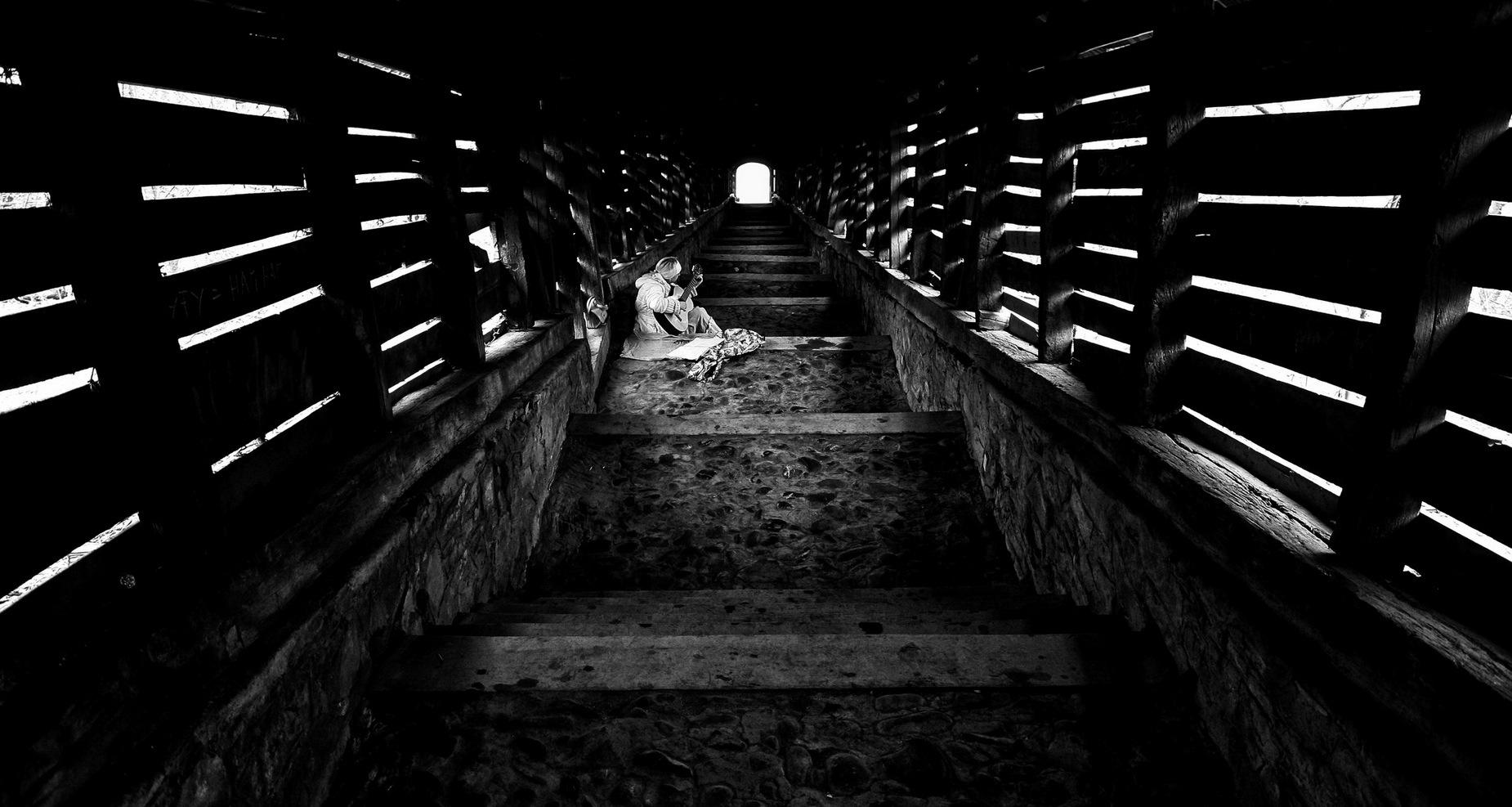 "фото ""Song"" метки: черно-белые,"