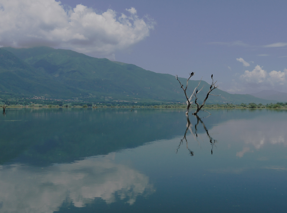 "photo ""Reflections"" tags: landscape, lake"