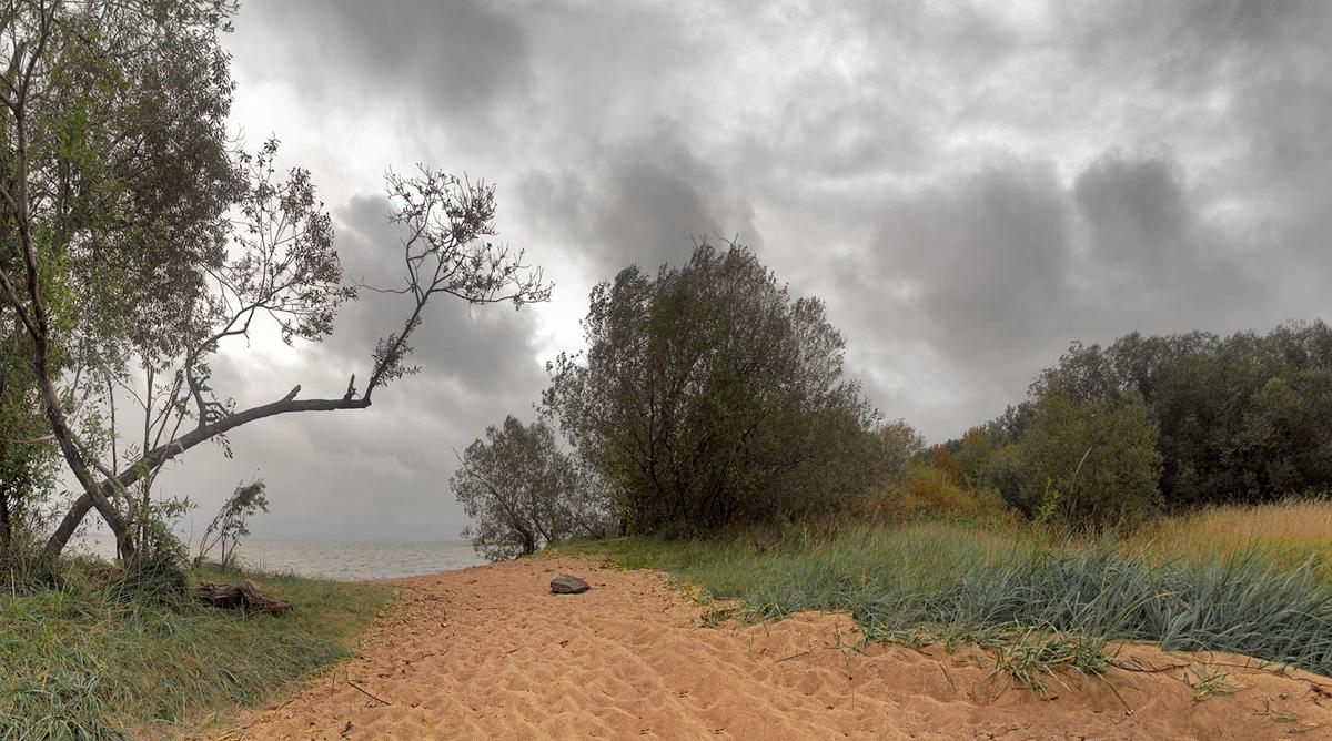 """фото """"Осенняя"""" метки: пейзаж, облака, осень"""
