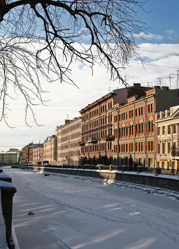 """фото """"уже кончается зима.."""" метки: город,"""